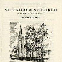 Image of .1 - St. Andrew's Church Program, 1978