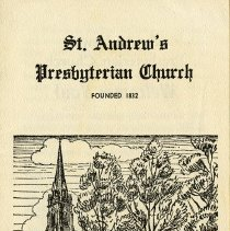 Image of St. Andrew's Presbyterian Church Brochure