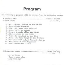 Image of U of G Choir Tour 1978 pg 4