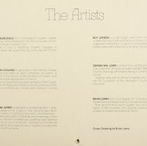 Image of Artists Bio Page