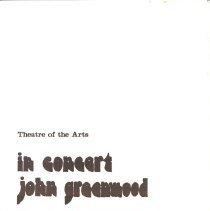 Image of John Greenwood Concert 1975 p1