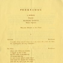 Image of Programme, p.1