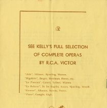Image of Advertisement, C.W. Kelly & Son, back cover