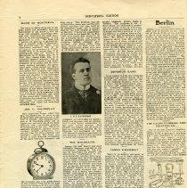 Image of Jos.U. Pequegnat, L.N.E. La Fontaine, James Gilchrest, page 8