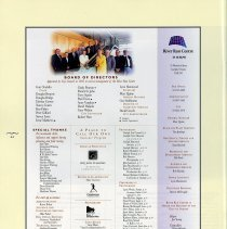 Image of Board of Directors; Special Acknowledgements, p.44