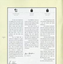 Image of Messages from Romeo LeBlanc, Jean Cretien, John Manley, p.2
