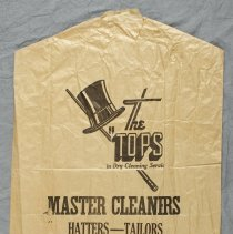 Image of 1997.9.4 - Bag, Dry Cleaning