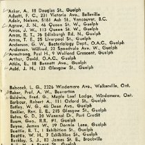 Image of Membership List, p.1