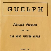 Image of City of Guelph Plan, November 1945