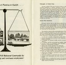 "Image of ""The Philosophy of Planning in Guelph,"" pages 5, 6"