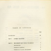 Image of Table of Contents, page i