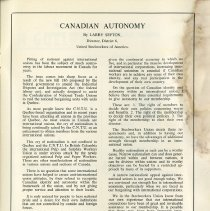 """Image of """"Canadian Autonomy"""" by Larry Sefton, p.43"""