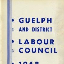 Image of Guelph & District Labour Council, 1968