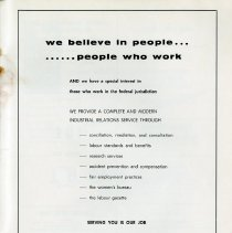Image of Canada Department of Labour Message, p.39