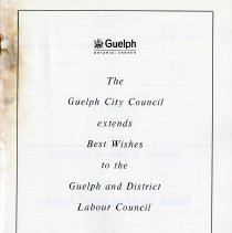 Image of Guelph City Council Welcome, p.1