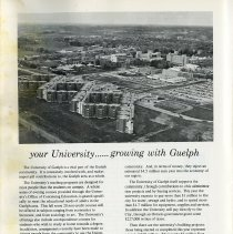 "Image of ""Your University..... Growing with Guelph,"" p.18"