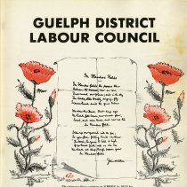 Image of Guelph District Labour Council, Labour Review 1972