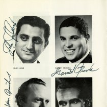 Image of John Arab; Garnet Brooks; Maurice Brown; Peter Van Ginkel, p.12