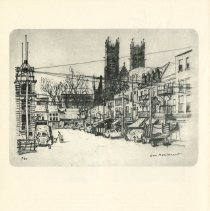 Image of Evan Macdonald Sketch of Carden Street, p.26