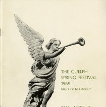 Image of 1969 Guelph Spring Festival Program with Autographs