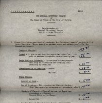 Image of Price List, McIntyre & Wilkie Funeral Home, page 1