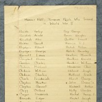 Image of .2 Honour Roll