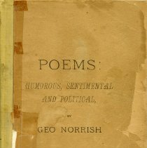 Image of Poems by George Norrish