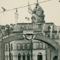 Image of Guelph Centennial Arch, 1927