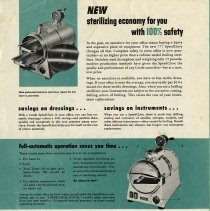 "Image of .1 - Back Cover, ""New Sterilizing Economy for you"""