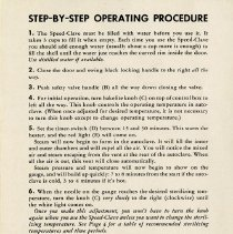"Image of .2 - ""Step-by-Step Operating Procedure,"" page 3"