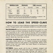 "Image of .2 - ""How to Load the Speed-Clave,"" back cover"