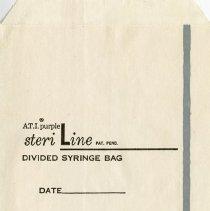 Image of .3 - A.T.I. Steri-Line Divided Syringe Bag
