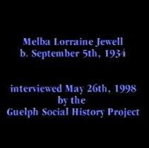 Image of Melba Jewell