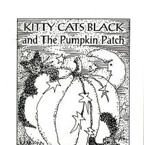 """Image of """"Kitty Cats Black and the Pumpkin Patch"""""""