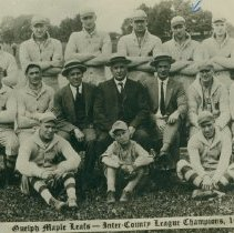 Image of Maple Leaf Baseball Team, 1921