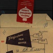 Image of Envelope, Marshall's Drug Store, 1957
