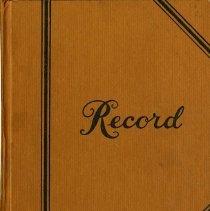 Image of Pica Em Club Minute Book No.2, 1955 to 1963