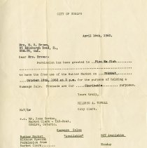 Image of Permission Slip to Pica-Em Club, 1962