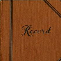 Image of Pica Em Club Minute Book, 1964 to 1976