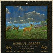 Image of Schell's Garage Calendar, 1985