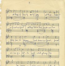 Image of .2 - Sheet Music, King & Queen of Hearts, p.3