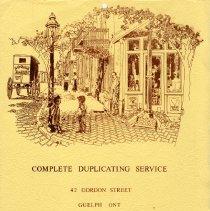Image of Complete Duplicating Service Calendar, 1979