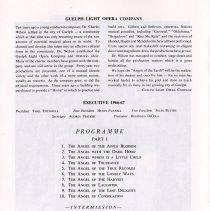 Image of Guelph Light Opera Company; Programme, p.6