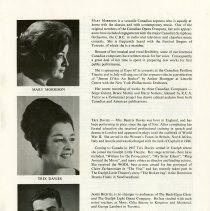 Image of Bios of Mary Morrison, Trix Davies, and James Bechtel, p.9