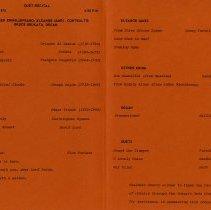 Image of Program, Duet Recital