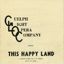 "Image of Program, ""This Happy Land,"" December 1960"