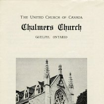 Image of Chalmers Church, 1868-1966