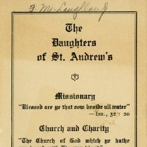 Image of The Daughters of St. Andrew's Programme