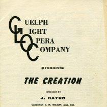 "Image of Program, ""The Creation,"" March 29,1965"