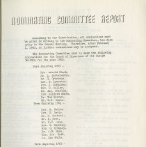 Image of Nominating Committee Report, p.14